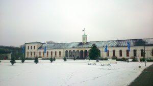 Conversationshaus im Winter